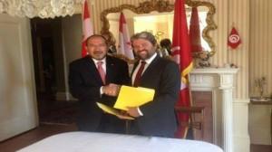 توقيع مذكرة تفاهم بين تونس وكندا في مجال التعليم العالي والبحث العلمي