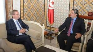 """فرص الاستثمار في تونس: محور لقاء بين """"الورفلي"""" والسفير البريطاني"""