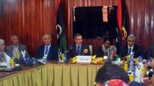 مباحثات ليبيا