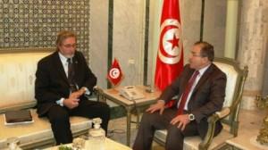 وزير الشؤون الخارجية يستقبل سفير جمهورية تشيكيا بتونس