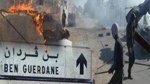 الاحتجاجات ببن قردان