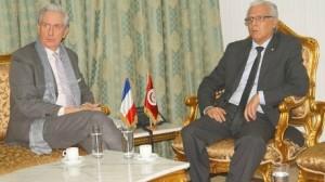 ملف الأموال المنهوبة محور لقاء وزير العدل بسفير فرنسا
