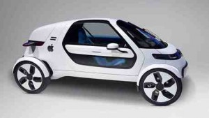 image Apple Car mockup