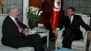 الصيد و سفير فرنسا بتونس فرنسوا غويات