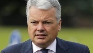 وزير خارجية بلجيكيا