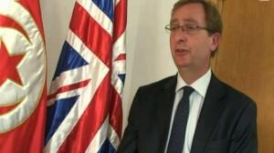 """السفير البريطاني بتونس """"هاميش كويل"""""""