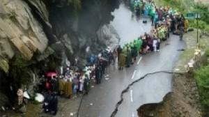 انهيارات أرضية في الهند