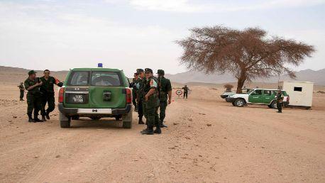 الحدود التونسية الجزائرية