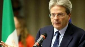 وزير الخارجية الايطالي  باولو جنتيلوني
