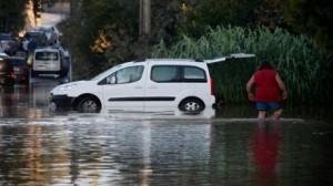 فيضانات في جنوب فرنسا