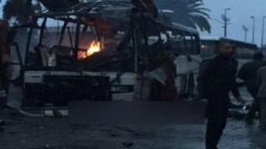 انتحاري فجّر نفسه لدى مرور حافلة الأمن الرئاسي