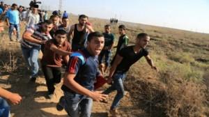 شهيد وعشرات المصابين في غزة