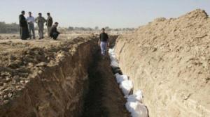 العثور على مقبرة جماعية في الرمادي