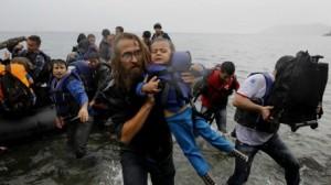 غرق 11 لاجئا معظمهم من الأطفال قبالة السواحل اليونانية