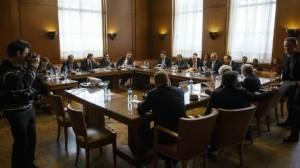 معارضيين سوريين إلى سويسرا للقاء دي ميستورا kk