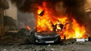 مقتل 5 أشخاص وإصابة 39 اخرين في انفجار سيارة مفخخة