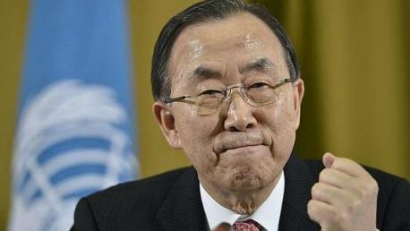الأمين العام للأمم المتحدة بان كي مون KK