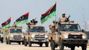 الجيش الليبي يطارد الجماعات الإرهابية في بنغازي