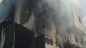 حريق هائل بمستشفى في الإسكندرية يقتل ويصيب 15 شخصاً
