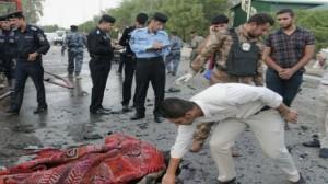مقتل 14 شخصا على الأقل بتفجير انتحاري