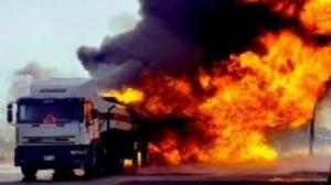 مقتل 15 شخصا بانفجار شاحنة محملة بالغاز