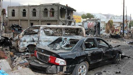 نيران الحوثيين تلتهم متحف تعز الوطني KK