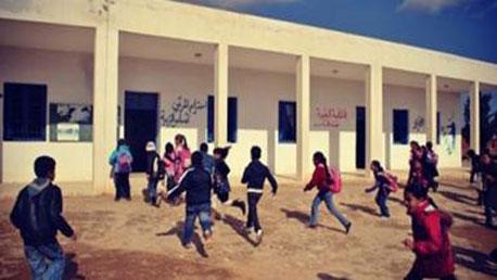 تلاميذ المدارس الريفية