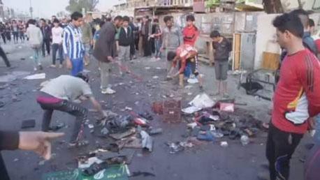 العراق + تفجير انتحاري