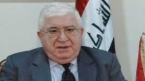 فؤاد معصوم في القاهرة يؤكد على مكافحة الإرهاب في مباحثاته مع السيسي
