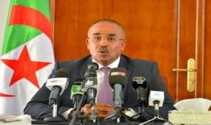 وزير الداخلية الجزائري نور الدين بدوي