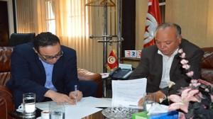 امضاء اتفاقية تعاون بين مؤسسة الاذاعة التونسية ومركز تونس لحرية الصحافة.