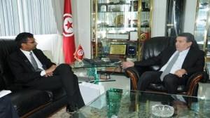 وزير الدفاع الوطني يستقبل سفير الهند بتونس