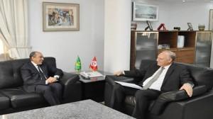 الترفيع في عدد الطلبة محور لقاء وزير التعليم بالسفير الموريتاني