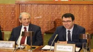 وزير الداخلية الهادي مجدوب و محمد الناصر