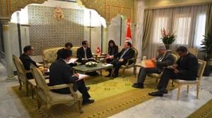 لقاء خميس الجهيناوي و لقاء رئيس الوكالة اليابانية للتعاون الدولي، السيد Kenichi Tomiyoshi