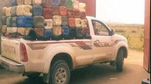 شاحنة تهريب للمحروقات