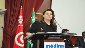 سنيا مبارك وزيرة الثّقافة والمحافظة على التّراث