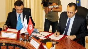 التوقيع على اتفاقية ضمان
