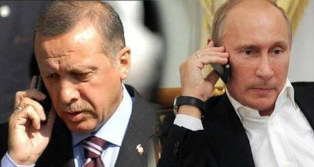 اردوغان والرئيس الروسي