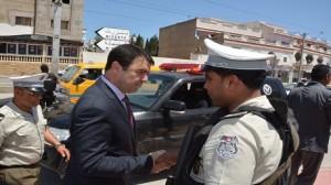 وزير الداخلية يتفقد جاهزية ويقظة الوحدات الأمنيّة