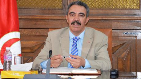 وزير التجهيز محمد صالح العرفاوي