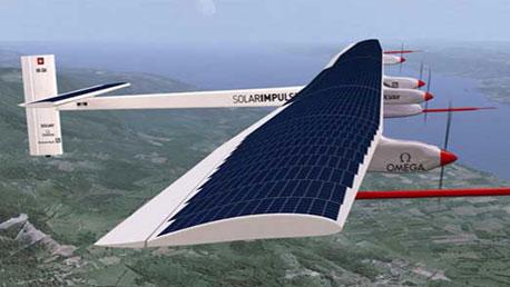 طائرة تعمل بالطاقة الشمسية