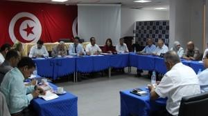 اجتماع المكتب التنفيذي لحركة النهضة حول مشاورات حكومة الوحدة الوطنيّة