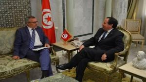 وزير الشؤون الخارجية يستقبل سفير ألمانيا بتونس
