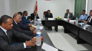 زيارة إلى إقليم الأمن الوطني بقرطاج
