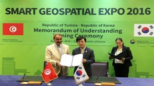 توقيع اتفاقية بين تونس وكوريا الجنوبية لدعم التعاون في مجالات المعلومات الجيومكانية وادارة الأراضي
