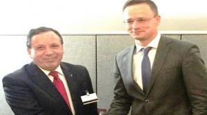 وزير الخارجية والتجارة المجري بيتر زيجارتو