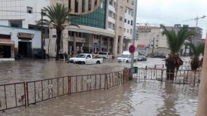 صفاقس: هطول أمطار بكميات كبيرة