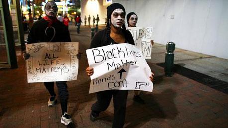 حتجاجات + امريكا