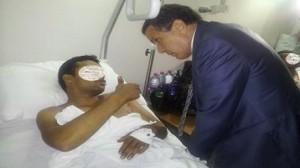 وزير الدفاع يعُود عددا من العسكريين الجرحى في عملية سمامة الأخيرة